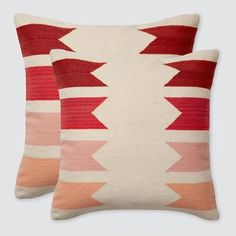Modern Blush and Pink Accent Pillows