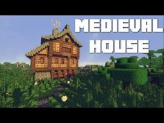 Minecraft: How To Build A Medieval House - YouTube