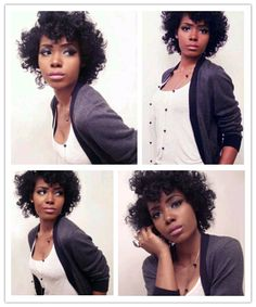 Cute curls: wondering if you can pin curl natural hair or do you have to bantu knot it?