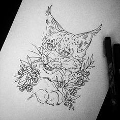 essitattoo@gmail.com #lynx #ink #drawing #piirustus #tatuoinnit #ylöjärvi #essitattoo #sketch #sketchbook #animaldrawing #inkdrawing #illustration #art #lynxdrawing #tattoodesign #tattooart #tattoosketch #animals #wildlifeart #animaldrawing #flashaddicted #illustrator #tattooartist #kuvittaja #tatuoija #femaletattooist #artistsoninstagram