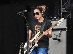 Warpaint @ Governors Ball 2017. Photos by Maribel.