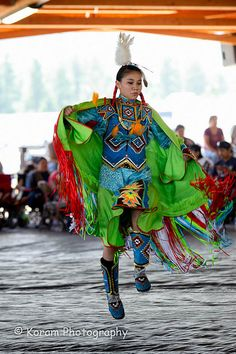 Powwow by Haksaeng, via Flickr (This made me do a double take - looks like our lil cuz Skye!)