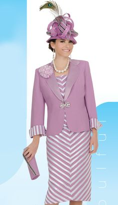 CS4313,Champagne Spring And Summer Womens Church Suits 2014.I don't like the hats but the colors and styles are beautifil