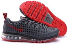 91e2311545e Air Max Motion 2014 Mens Gray Red Running Shoe Running Shoes For Men
