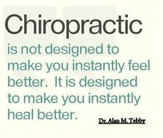 Chiropractic Restores Normal Function And Allows Your Body To Heal Itself.