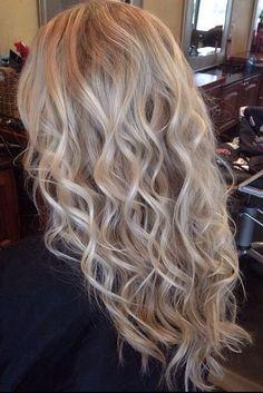 Hair~Hair and Make-up by Steph: How To: Braided Beach Waves (Fine Hair) Permed Hairstyles, Pretty Hairstyles, Hairstyles For Fine Thin Hair, Updos Hairstyle, Brunette Hairstyles, Hairstyles 2018, Fringe Hairstyles, Funky Hairstyles, Feathered Hairstyles