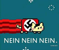 Nazi nyan cat