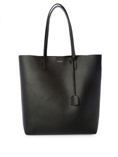 Medium leather tote   Saint Laurent   MATCHESFASHION.COM UK
