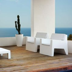Fauteuil salon outdoor JUT Vondom - MyClubDesign