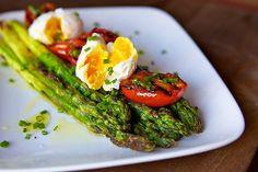 Asparagus and eggs