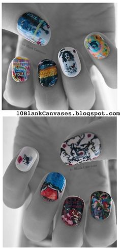 oh my fetching goodness...... iiiiiiiiiii aaaammmmm sssooooooooo jjeeellloouusssss!!! if someone can do this for me... please help!!! EVERY RHCP ALBUM ON A NAIL!!! AAAAHHHH
