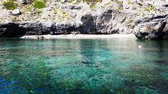 Marettimo Island from the Mediterranean Sea/ L'Isola di Marettimo dal mar Mediterraneo