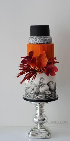 Sweet Temptations - Custom Cakes by Albena Gorgeous Cakes, Pretty Cakes, Cute Cakes, Amazing Cakes, Modern Cakes, Unique Cakes, Elegant Cakes, Gateaux Cake, Painted Cakes