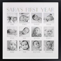 Click to see 'Baby's First Year' on Minted.com