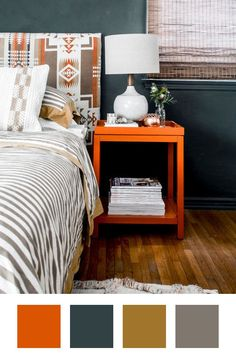 Colors that Go With Orange & How To Make Them Work   Apartment Therapy