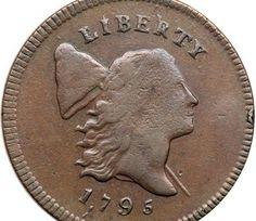 1795 reeded-edge U.S. penny