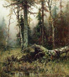 Julius Klever - Forest  1911