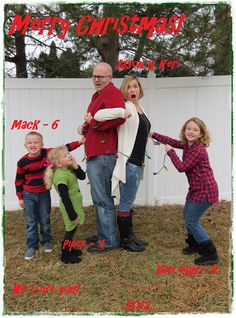 Fun Family Christmas Card Photo Cards Pictures Merry