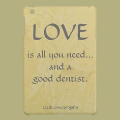 Love is all you need... and a good dentist! Union Pediatric Dentistry - pediatric dentist in Union, KY @  http://grandslamsmiles.com/