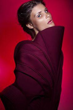 Uta Sienkiewicz | 2014 #fashion #experimental #dress #fashiondesign #fashiondesignschool #aspwarszawa #academyoffinearts #katedramody #fashiondepartment #fashiondesign #warsaw