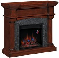 Martha's Vineyard Collection Complete Electric Fireplace Package ( Mantel and Fireplace Insert)