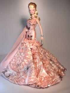 Barbie Peonia Artist Creations Italian O.O.A.K. Fashion Dolls by Alessandro Gatti e Giuseppe De Bellis