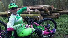 #MTB für all... mountain biking with arm power for everyone who doesn't want or can't use the legs or just wants to have since awesome upper body endurance workout.