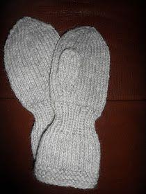 Hjemmelaget: OPPSKRIFT BARNEHAGEVOTTER Knit Mittens, Knitted Gloves, Knitting Charts, Baby Knitting Patterns, Knitting For Kids, Knitting Projects, Crochet Baby, Knit Crochet, Crochet Pattern