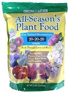 Grow More 7431 All Seasons Fertilizer 202020 5Pound *** Check out the image by visiting the link.