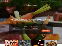Delish Food is a clean and modern Free Bootstrap Restaurant Template for all your restaurant or food business websites in order to boost your profits and expand your business via online by using this delicious and enticing template. This deliciously designed template is also a perfect choice for all your websites like beverages business, bakery, cuisine, organic, sushi, coffee, pizza, tea, wine, Cruise, Cake Shops, Bread Shops, Fast Food Shop, Smoothie Shop, Modern Cuisine, cafes, bars…