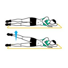 Perform this legs and butt workout once or twice a week: Starting with the first exercise, slowly complete five reps (it should take about 10 seconds per rep: five up, five down). Continue until you've done every exercise. Do two to four total circuits, switching sides (when necessary) every other set.