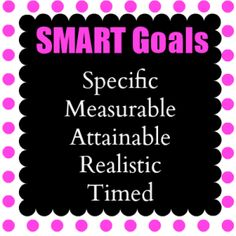 Setting SMART Goals for 2014 ...  Set goals for myself just like I'm writing a treatment plan.  ;-)