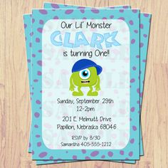 Hey, I found this really awesome Etsy listing at http://www.etsy.com/listing/157057157/monsters-inc-party-invitations-print-at