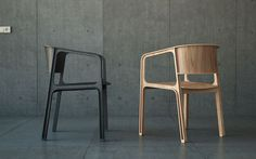 Beams Chair par Eric and Johnny Design Studio | Artibazar- blog mobilier design.