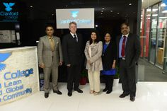 CEO Hounslow Chamber of Commerce(Hounslow)Visits Cranford College - 1