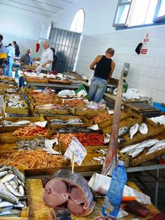 Mercato del Pesce - Trapani, Sicily, Italy