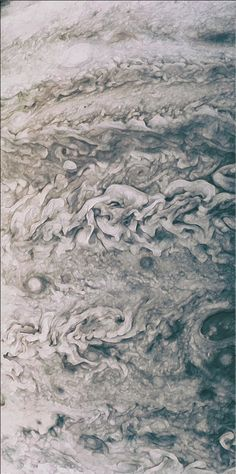 Amateur astronomers have also been redeveloping older Juno images. These Jovian cloud-top images all came from the probe's fourth flyby, on February 2, 2017. NASA/SwRI/MSSS/Uriel