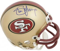 d4913683a Steve Young San Francisco 49ers Signed Mini Helmet Football Helmets For  Sale