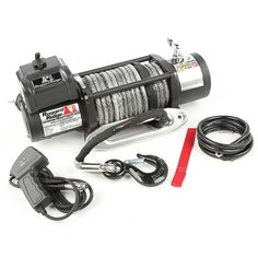 Spartacus Performance Winch, Synthetic Rope, 12500 lbs