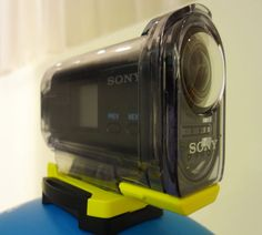 First Look at Sony's New Action Camera