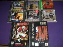 8 games for Playstation 1 PS1 Soviet Strike Test Drive 5 Spec Ops Airb FREE SHIPPING