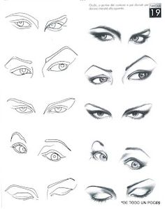 drawing eyes ✤ ||