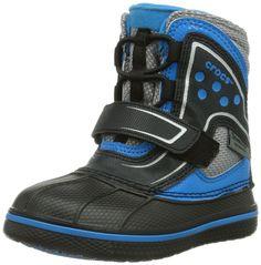premium selection 90bd9 3771a crocs AllCast Waterproof Boot GS - Botas de piel para niña  Amazon.es
