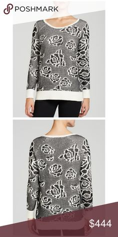 Nordstrom's Heather B Floral Intarsia Sweater $88M You'll welcome best buds with Heather B's trendsetting sweater, flaunting the season's bold blooms in an intarsia rose knit. Scoop neck, long raglan sleevesm solid ribbed trim, floral intarsia knit. Cotton/acrylic/rayon. NWT $88 M Heather B Sweaters Crew & Scoop Necks