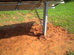Ground Mount Solar http://prepperhub.org/ground-mount-solar/