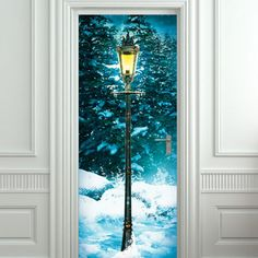 """Extra long sticky poster. Size: 30x79""""(77x200 cm) Amazing illusion for your interior - wall or door! High quality peel and stick film. Comes rolled in a tube. If you need CUSTOM size just write us! Registered trackable shipping from Eastern Europe takes 2-4 weeks (seldom 5 weeks for Australia).  High quality washable vinyl banner, waterproof inks and a UV protective coating gives us a longevity rating of many years. Stickerbrand wall murals DO NOT need glue, paste or any special chemical..."""