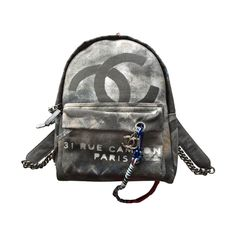 38860c475e1603 2014 Chanel Runway Graffiti Backpack Medium. Backpacks For SaleChanel Runway Vintage ...