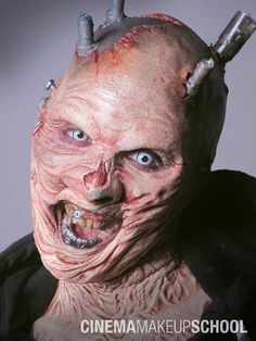 Check out the latest and greatest from Special Makeup Effects! Cinema Makeup School.