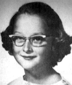 Meryl Streep . . . school pictures:  bane of existence for all kids!