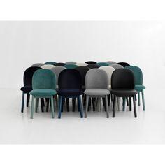 Normann Copenhagen Ace stoel. In deze #stoel met heerlijk zachte bekleding kom je echt tot rust! #Normanncopenhagen #design #Flinders